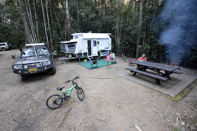 Bellbird Campsite