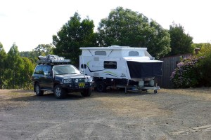 Lavers Hill Caravan Pk??