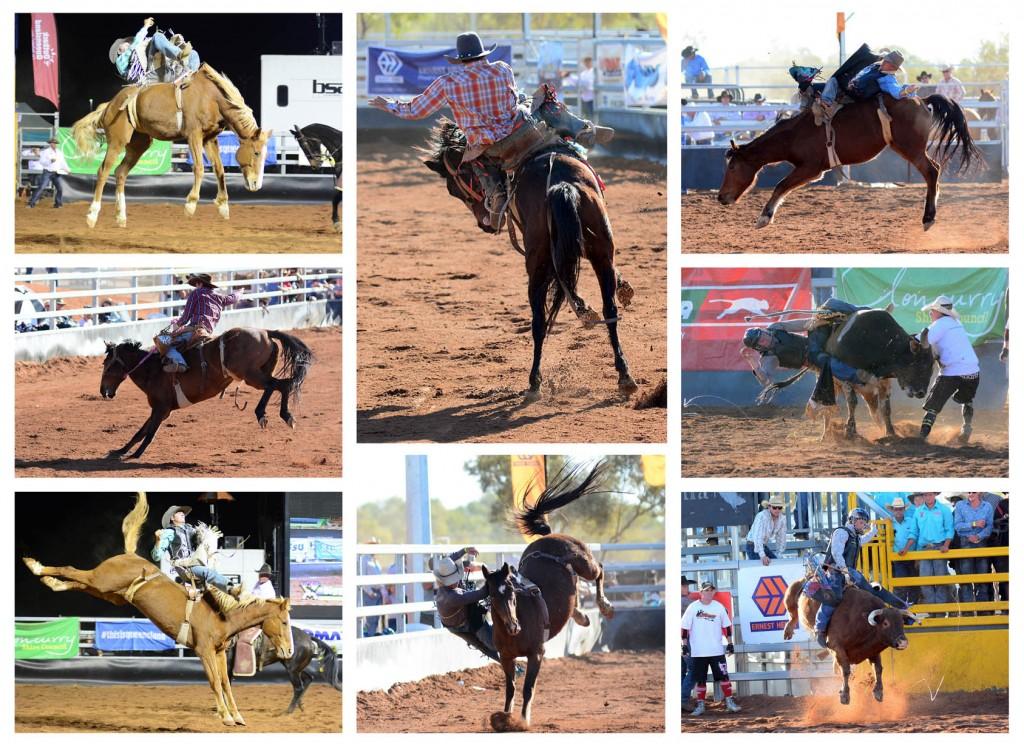 Rodeo montage KK