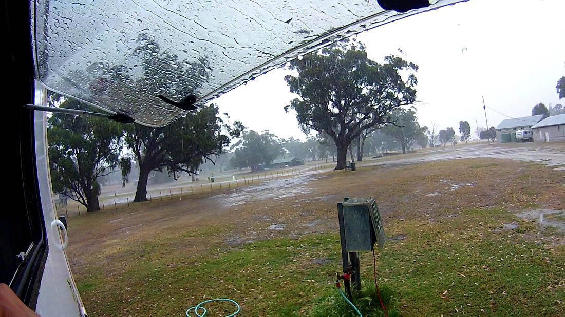 Melrose rain